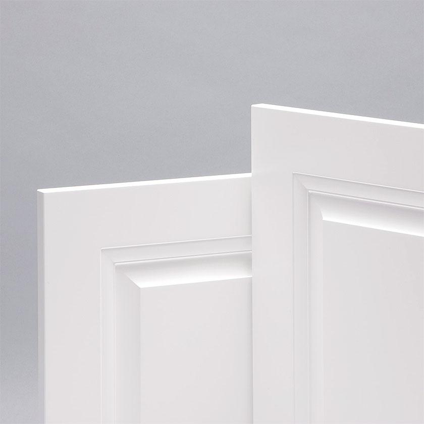 Dettaglio porta classica bianco ducale