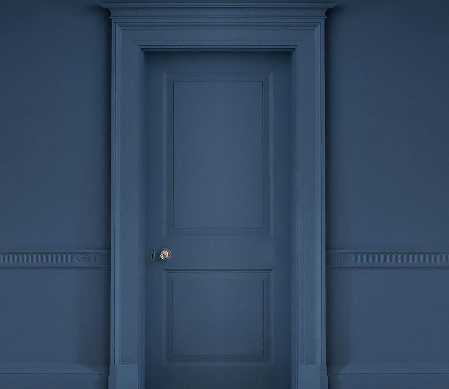 Porta Classica colorata