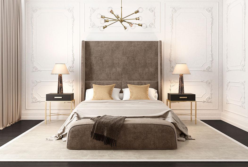 Camera da letto lusso classica